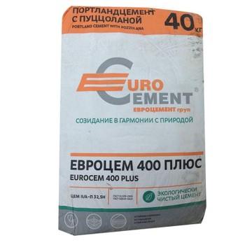 Цемент ЦЕМ II/А-Ш 32,5Н (ПЦ-400 Д20), Евроцемент, 50кг