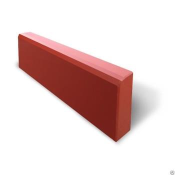 Бордюр красный (500х210х70)