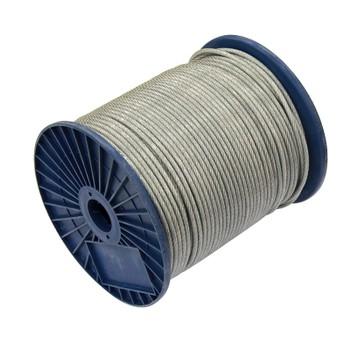 Трос стальной в ПВХ 4/6 мм