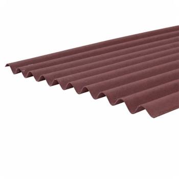 Ондулин лист красный 2000х950мм