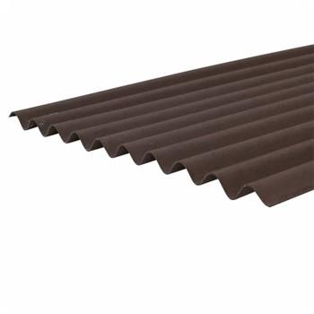 Ондулин лист коричневый 2000х950мм