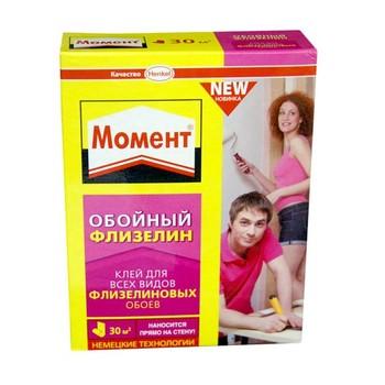 Клей обойный Момент Флизелин (Henkel), 500гр