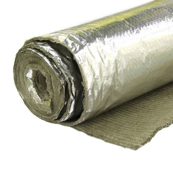 Материалы базальт огнезащит рулонн фольгир МБОР 5Ф 30000х1500х5