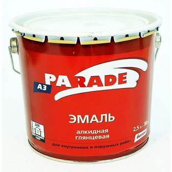 Эмаль PARADE А3 белая гл. (2,5л)