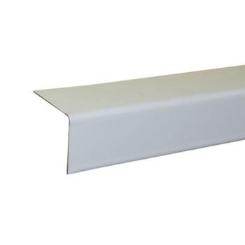 Уголок белый 19х24х3000мм алюмин. (Албес)