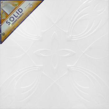 Потолок клеевой Белый (Солид) полистирол 50*50 С2052