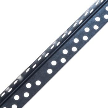 Уголок для гипсокартона 25х25 мм оцинкованный, 3 м