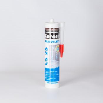 Затирка Ceresit CS25 эластичная силиконовая (темно-коричневая), 280 мл