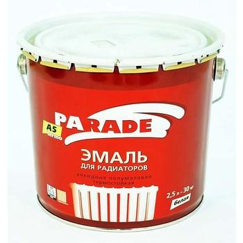 Эмаль PARADE А5 termo белая п/мат. (2,5л)