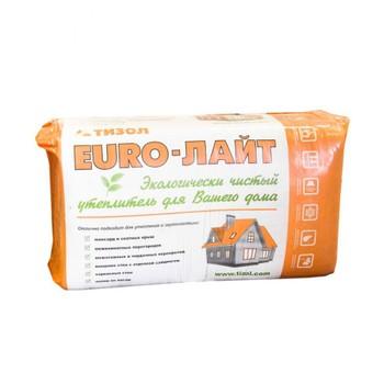 Утеплитель ТИЗОЛ EURO-ЛАЙТ 25 1000х600х50 мм 18 штук в упаковке