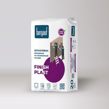 Шпатлевка полимерная Bergauf Finish Plast, 20 кг