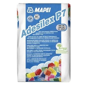 Клей для плитки (C2 T) Mapei Adesilex P7 Grey, 25 кг