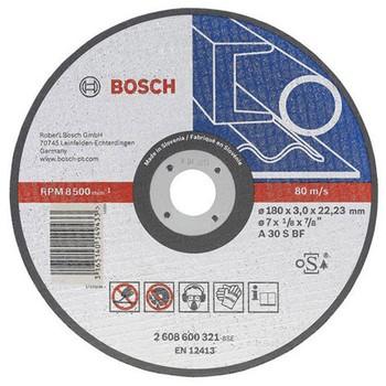 Круг по металлу отрезной 180х3,0, BOSCH