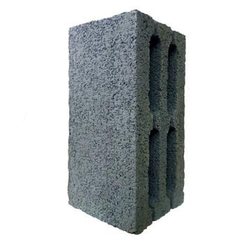 Блок шлакобетонный пустотелый 390х190х188 мм