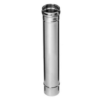 Дымоход 0,5м Ø115 (430/0,5 мм) FERRUM