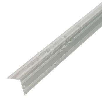 Профиль угловой ПУ05 (20х20) (ПУ05, 1350.01 л, серебро люкс)
