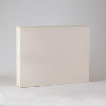 Плита гипсовая пазогребневая полнотелая 667х500х80мм, Гипсополимер