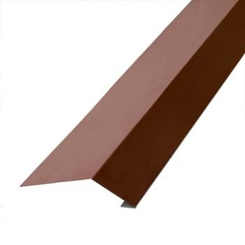 Планка карнизная 100х69х2000 (ПЭ-8017-ОН) шоколад