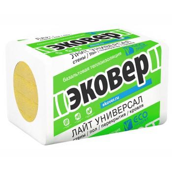 Мин. плита ЛАЙТ Универсал 28 (1000x600x80)x6 Эковер