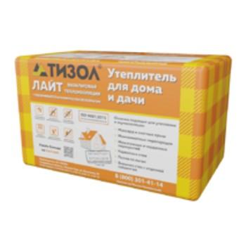 Утеплитель ТИЗОЛ EURO-ЛАЙТ 35 1000х600х100 мм 6 штук в упаковке