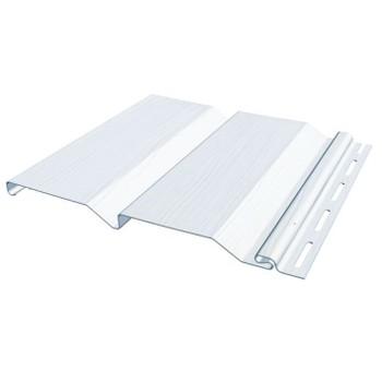 Сайдинг ПВХ (белый) 3,66х0,205м Файн Бир