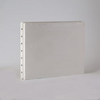 Пазогребневая плита Гипсополимер 667х500х80 мм, пустотелая