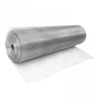 Сетка сварная 50х50мм d=1,6мм, (1,5х25м) оцинкованная