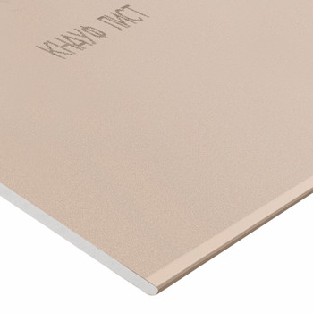 Лист гипсокартонный 1500х600x12,5 Кнауф