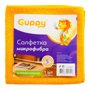 Салфетка для уборки из микрофибры 300х300мм