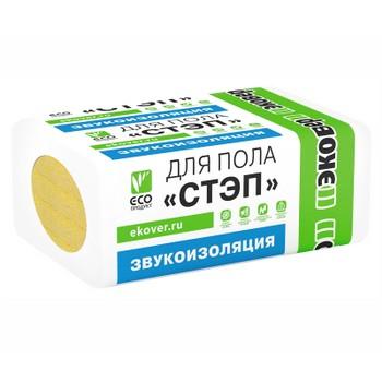 Утеплитель Эковер СТЭП 125 1000х600х30 мм 6 штук в упаковке