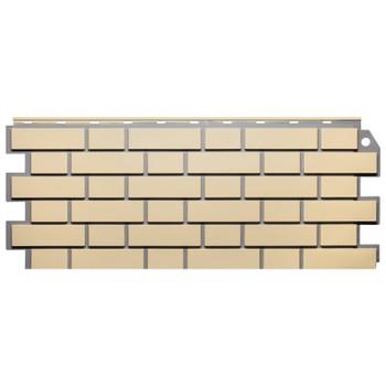 Панель фасадная кирпич облиц. желтый 1,13х0,463м, Файн Бир