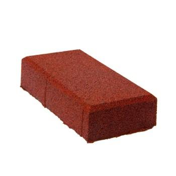 Плитка тротуарная Кирпичик (100*200*70) красная