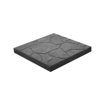 Плитка тротуарная Тучка, 300х300х30мм черная
