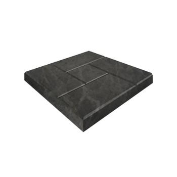Плитка тротуарная Калифорния, 300х300х30мм черная
