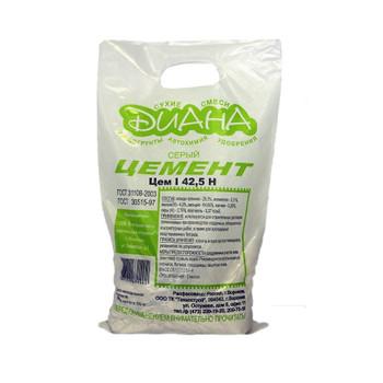 Цемент Диана серый, 3 кг