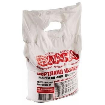 Цемент Диана серый, 10 кг