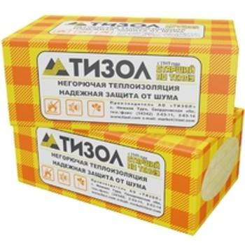 Утеплитель ТИЗОЛ EURO-ВЕНТ 80 1000х600х100 мм 4 штуки в упаковке