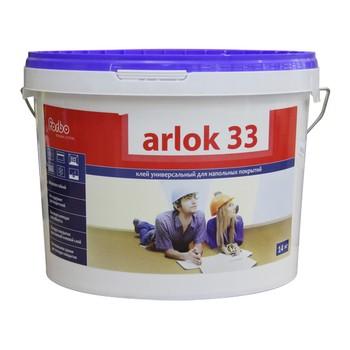 Клей Arlok (Arlok 33, 14 кг, для бытового линолеума, морозостойкий, срок хранения 12 мес)