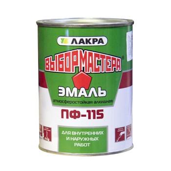 Эмаль ПФ-115 зеленая 0,9кг (Выбор Мастера)