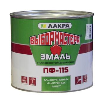 Эмаль ПФ-115 ярко-зеленая 1,9 кг (Выбор Мастера)