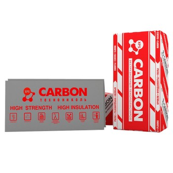 Пенополистирол экструзионный Технониколь XPS 35-300 Carbon Pro Г3 (1180х580х50)х8 шт