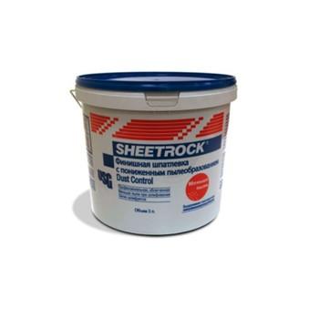 Шпатлевка Sheetrock Dust Control, 3л синяя крышка