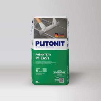 Ровнитель цементный Плитонит Р1 easy, 25 кг