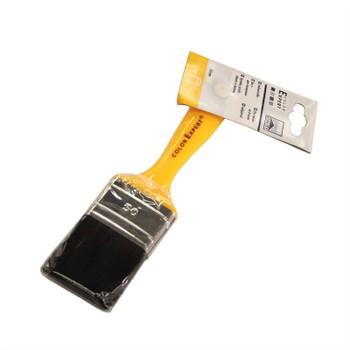 Кисть флейцевая Color Expert, желтая ручка, 50 мм