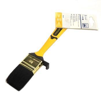 Кисть флейцевая 40мм, желтая 2-комп.ручка, Color Expert