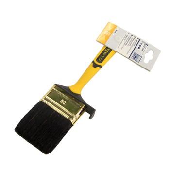 Кисть флейцевая 60мм, желтая 2-комп.ручка, Color Expert