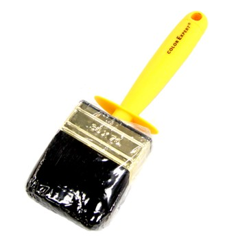 Макловица 3х7см черн. щет., желтая пластик.ручка, Color Expert