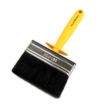 Макловица 3х12см черн. щет., желтая пластик.ручка, Color Expert