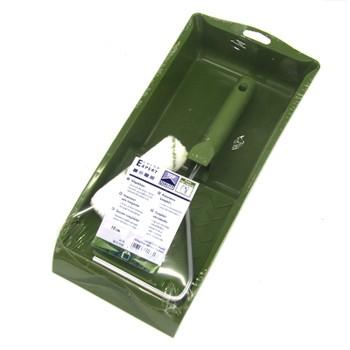 Валик микрофазер 100мм, ворс 9мм+зеленая ванночка, Колор Эксперт