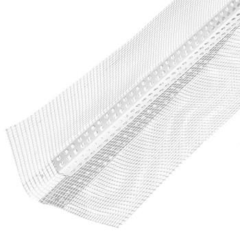 Профиль-капельник с армирующей сеткой ПВХ 10х10 см L=2,5м